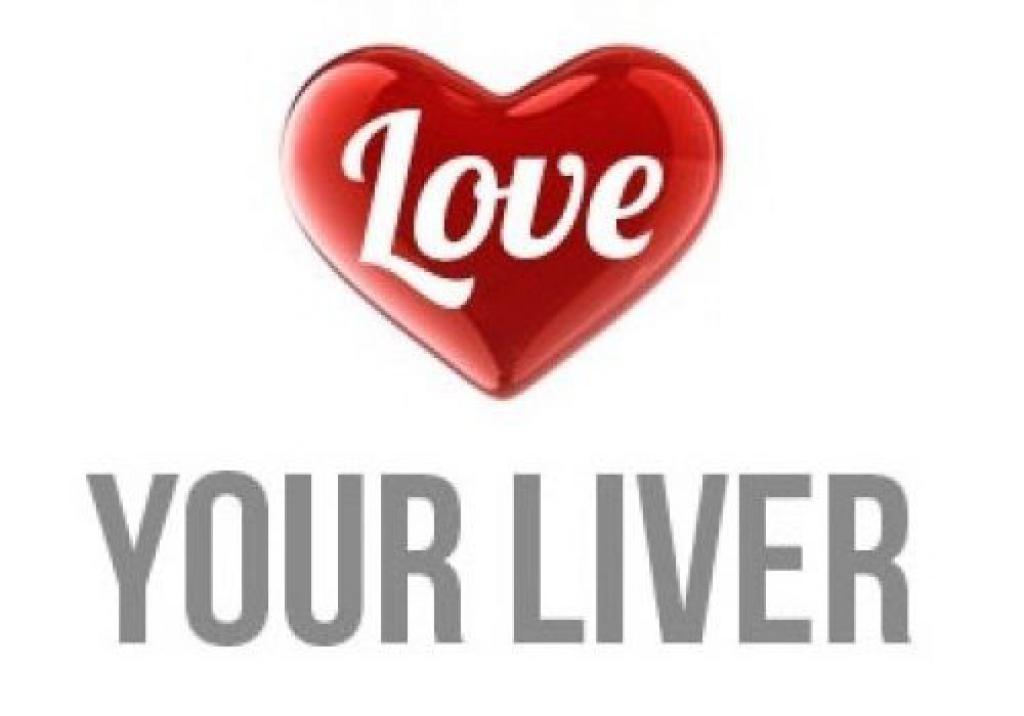 The words love your liver