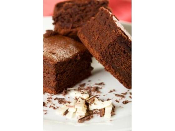 No image description provided for Elegant Dark Chocolate Brownies.