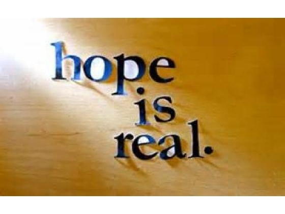 No image description provided for Hope Really Matters Keep It Alive.