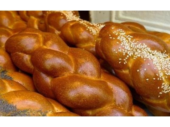 A loaf of challah bread