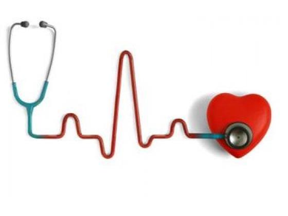 Stetascope on heart