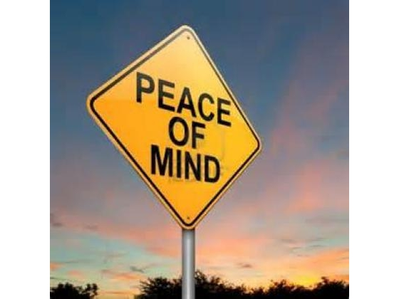 No image description provided for Peace Of Mind Imparts Healthy Rewards.