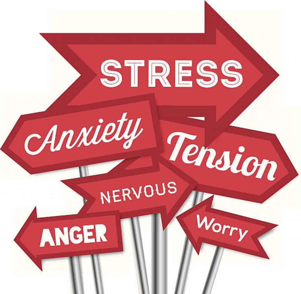 Emotional signsposts  stress anxiety