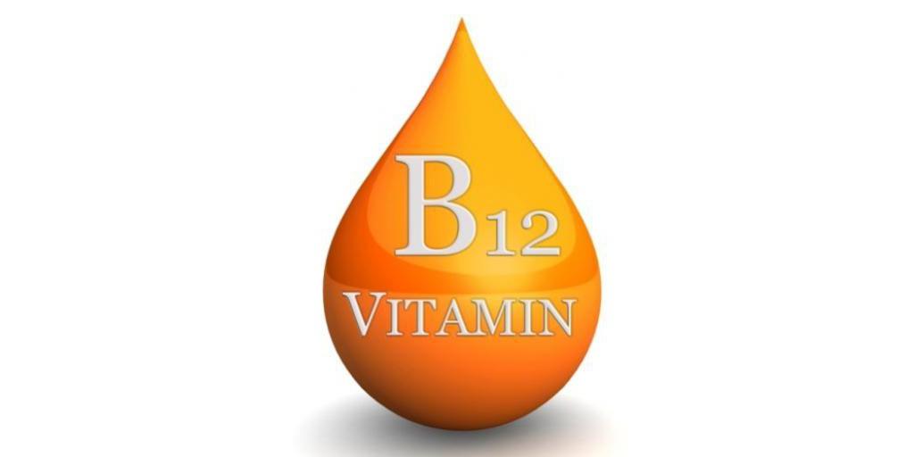 A drop of B12 vitamin