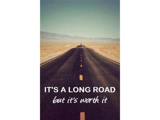 A long road for the journey ahead